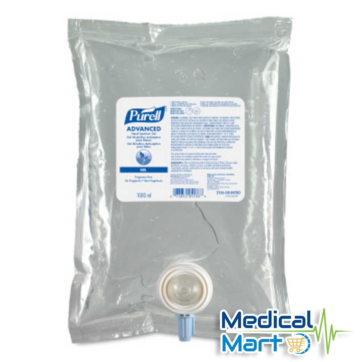 Purell Hand Sanitizer Refill 1ltr