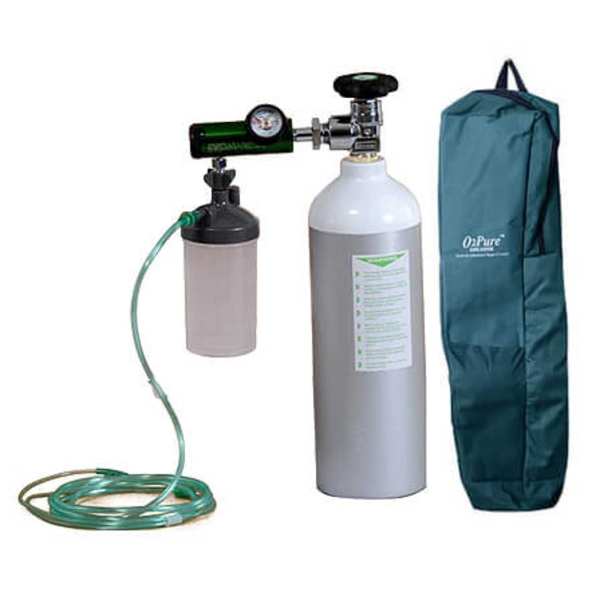 Oxygen Cylinder 2.2 Ltr W.C.