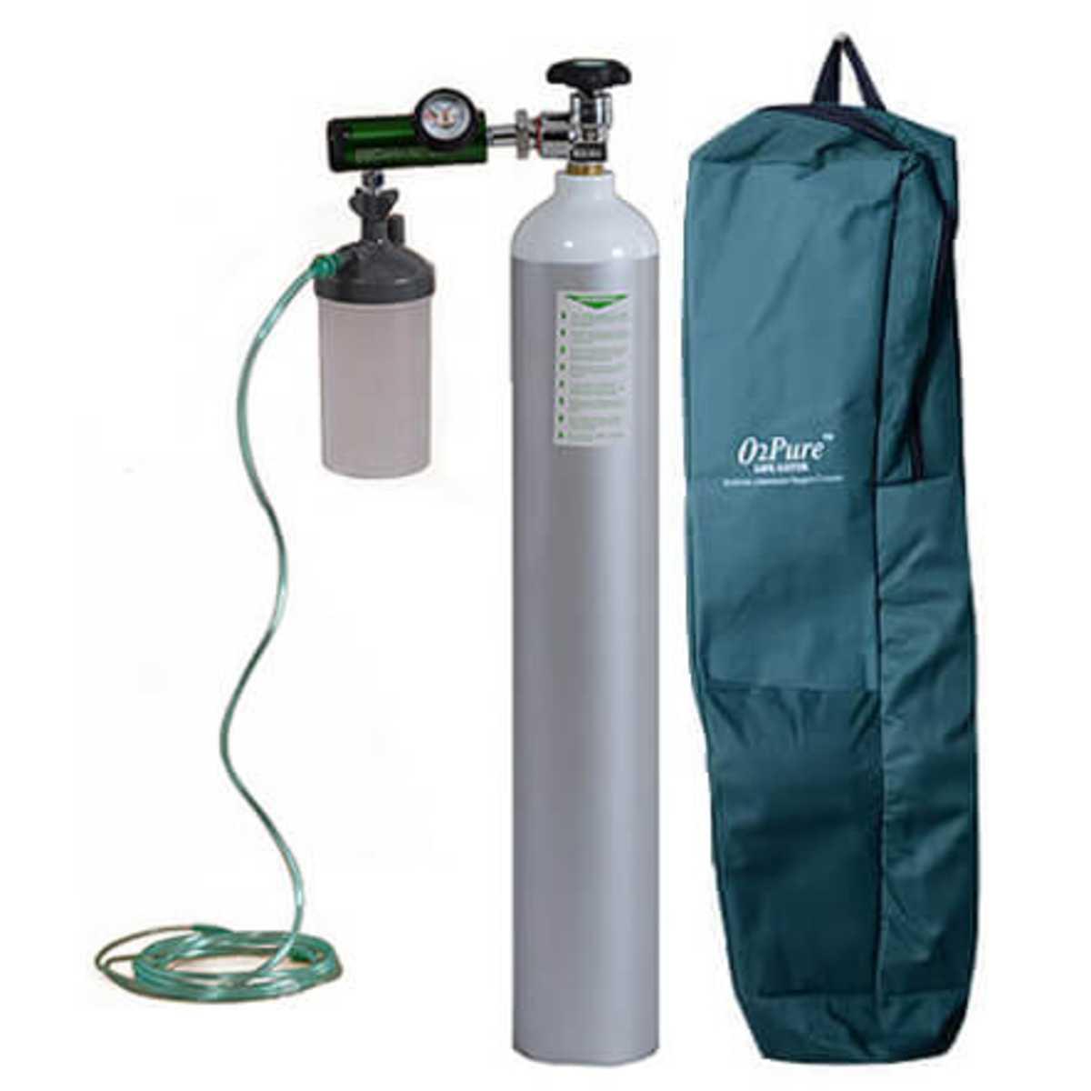 Oxygen Cylinder 4.5 Ltr W.C.