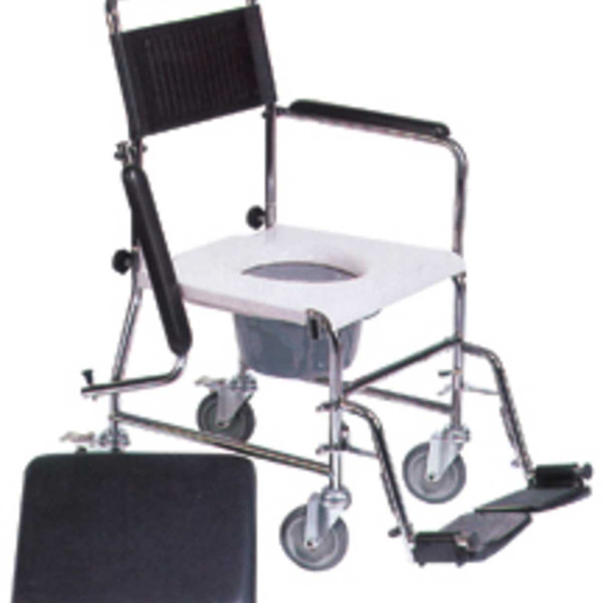 Portable Commode With Wheels