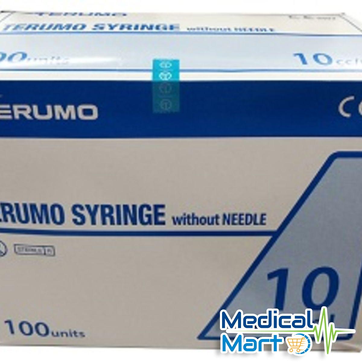 10ml Terumo Syringe Without Needle