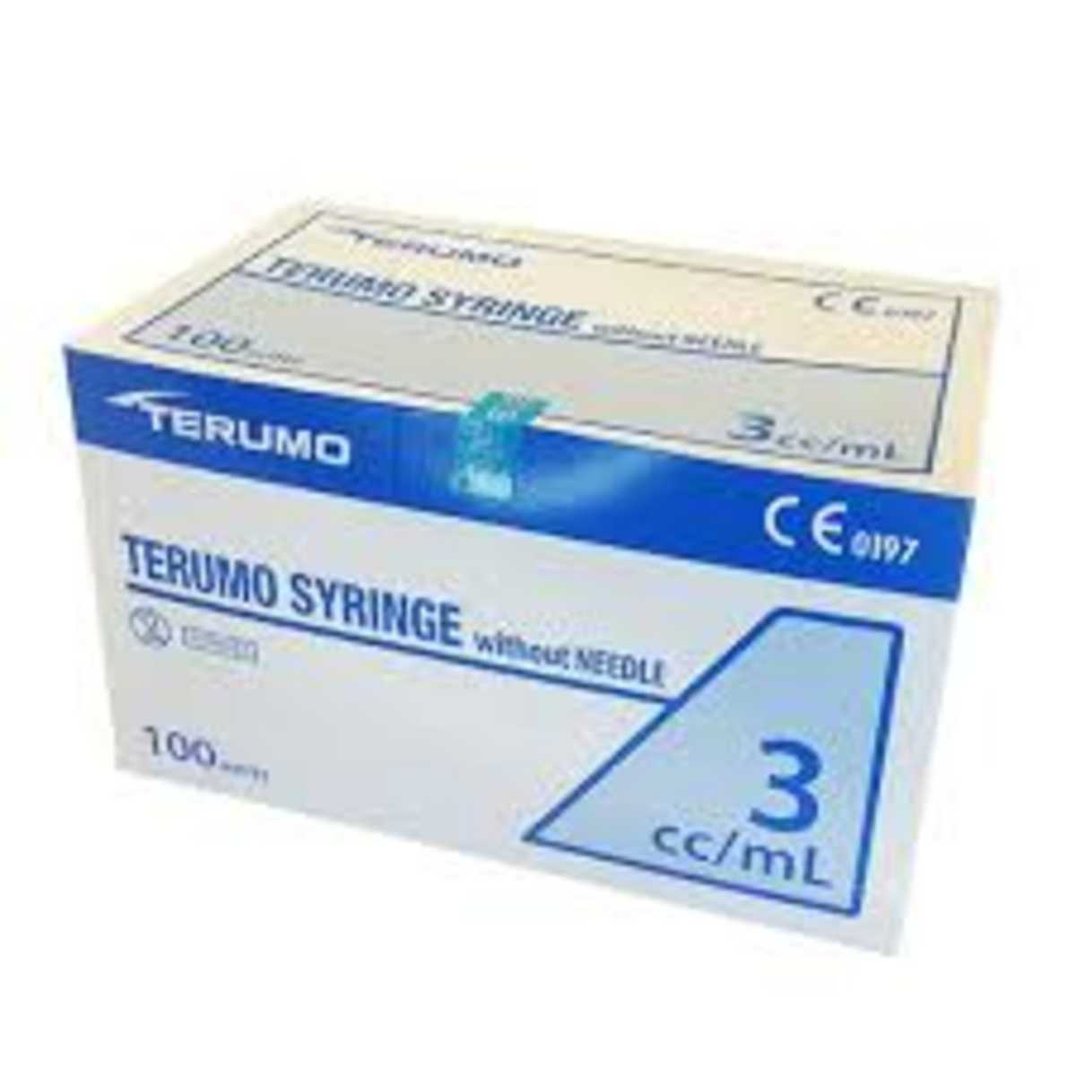 3ml Terumo Syringe Without Needle