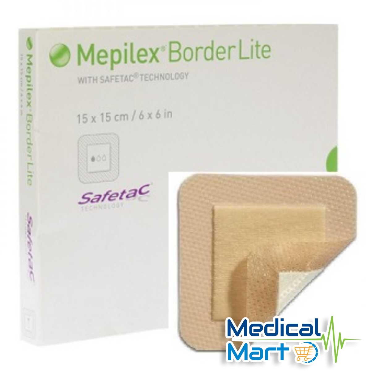 Mepilex Border Lite Foam Dressing 15cm x 15cm