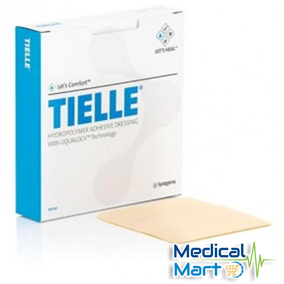 Tielle Hydropolymer Adhesive Wound Dressing, 15cm x 10cm