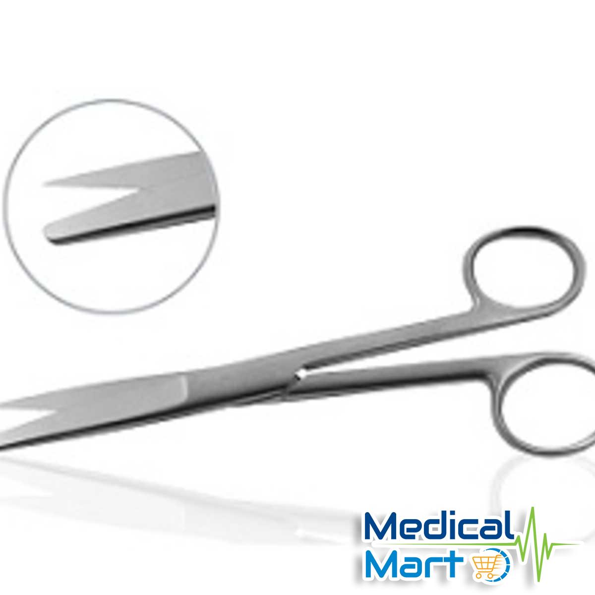 Operating Scissors Sharp/Blunt, Straight 5.5 Inch