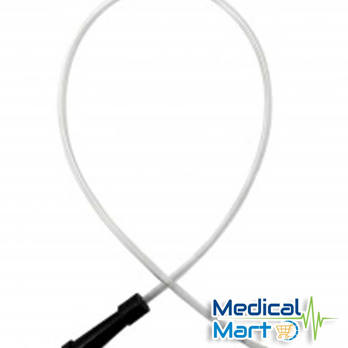 Nelaton Catheter (Black), Fr10