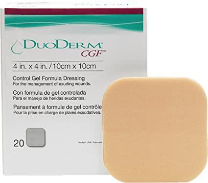 DuoDerm CGF, 10cm x 10CM