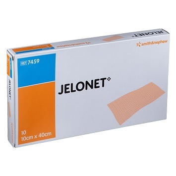 Jelonet Paraffin Gauze Dressing, 10cm x 40cm