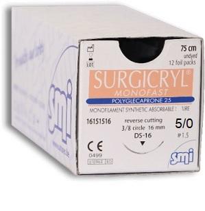 5/0 Surgicryl Monofast (Polyglecaprone 25)