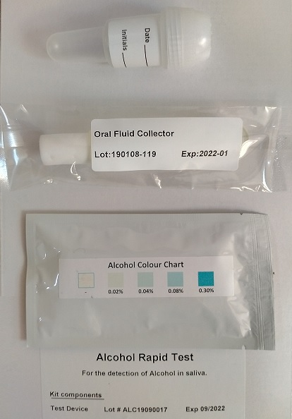 Alcohol Rapid Test, 25 Test Kits