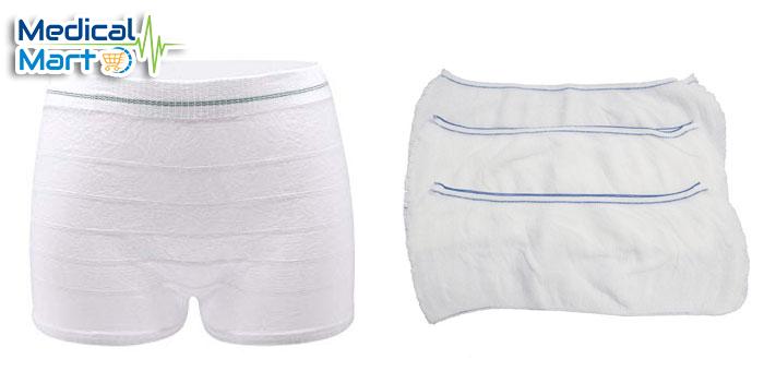 Disposable Underwear, Medium, 50's