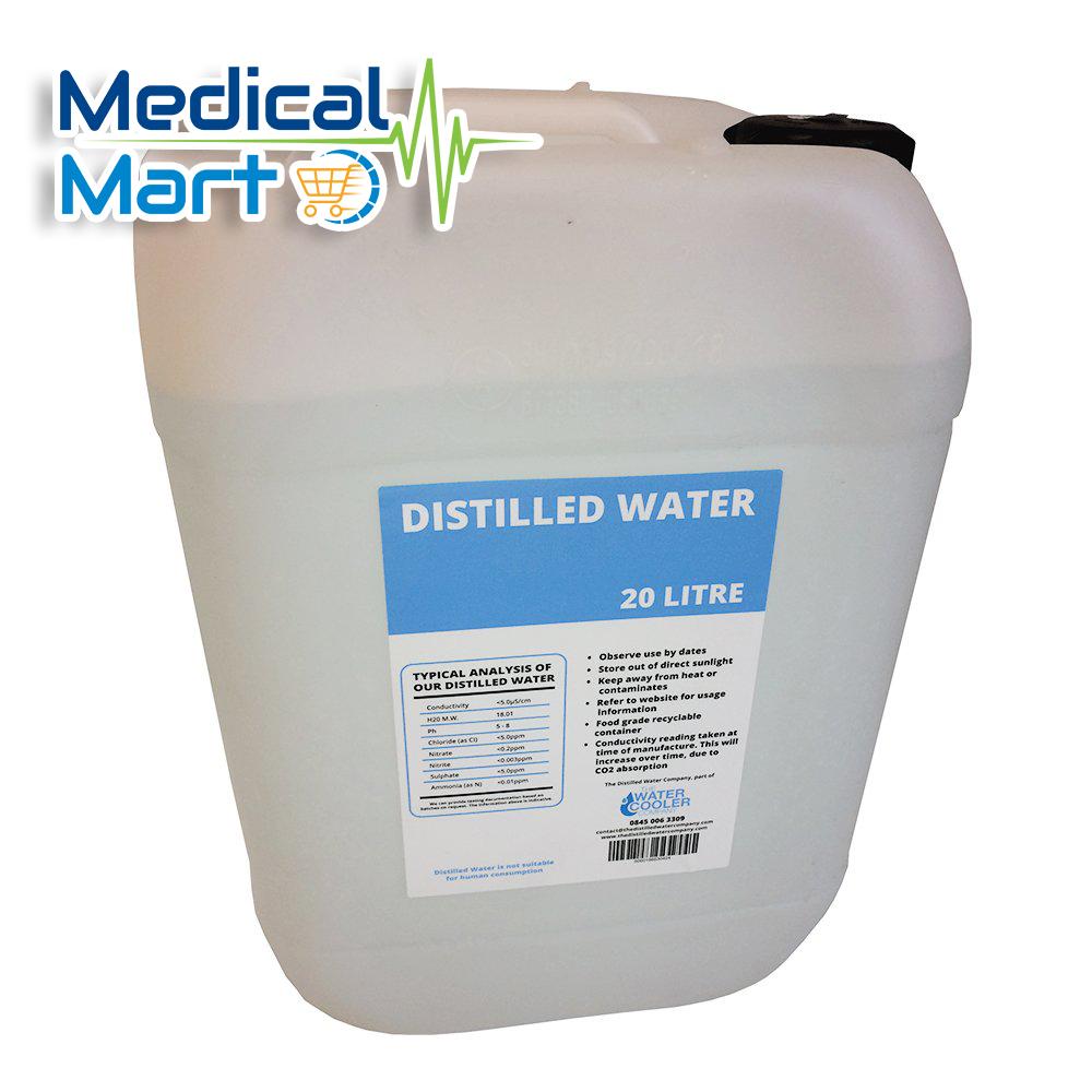 Distilled water 20ltr