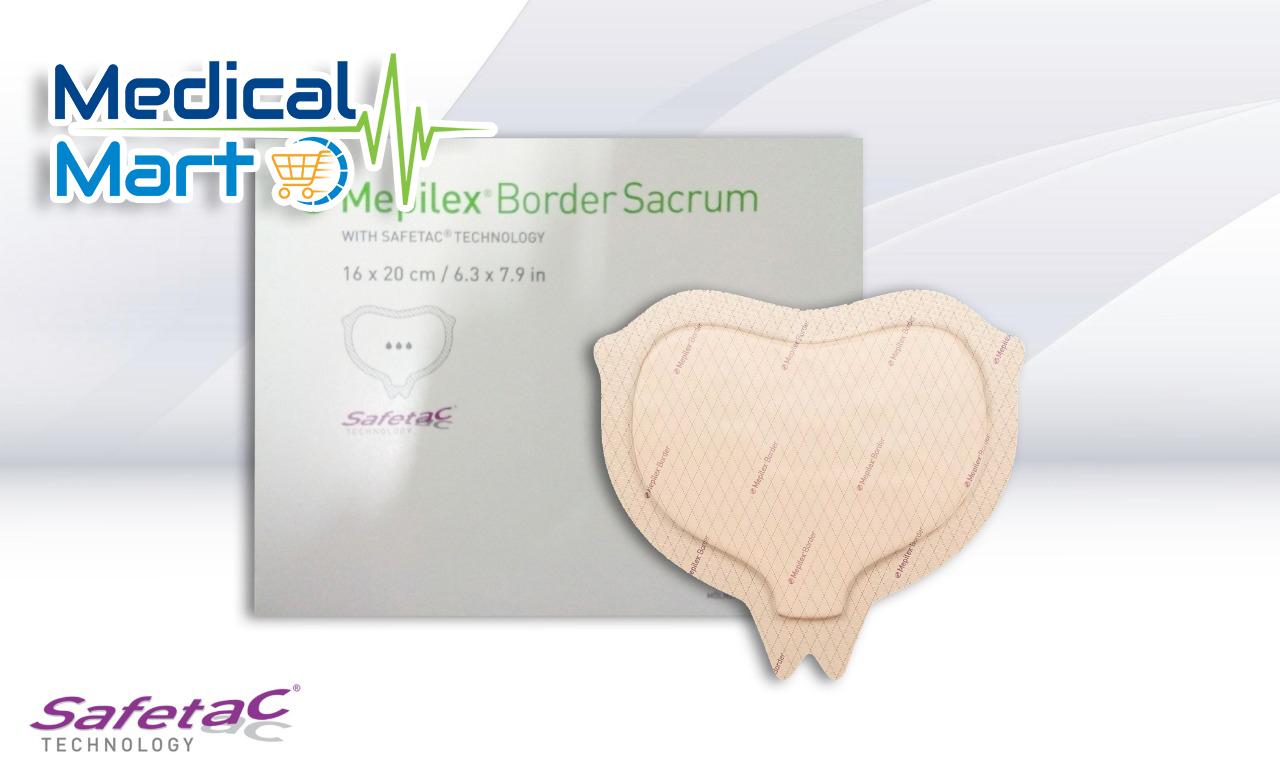 Mepilex Border Sacrum 16CM x 20CM