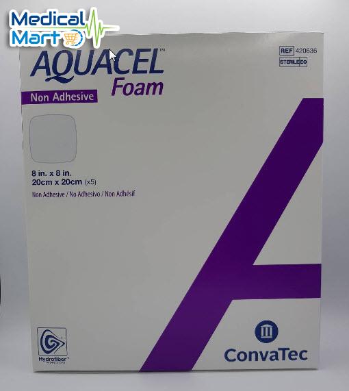 Aquacel foam non adhesive 20x20cm
