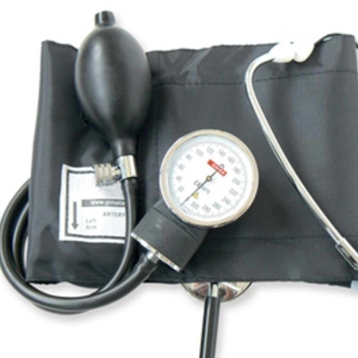Aneroid Bp Monitor With Stethoscope