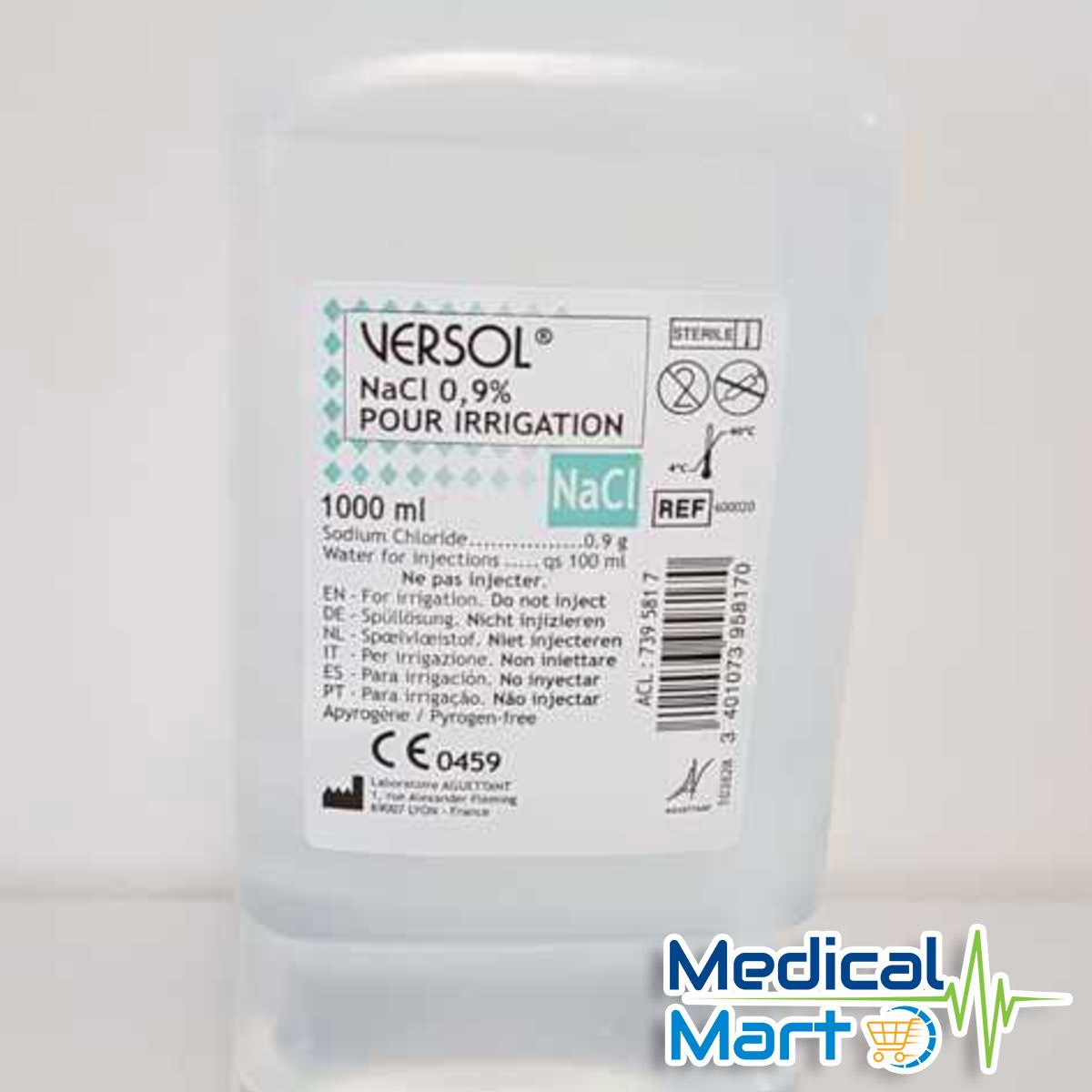 Versol Sodium Chloride 0.9% 1000ml
