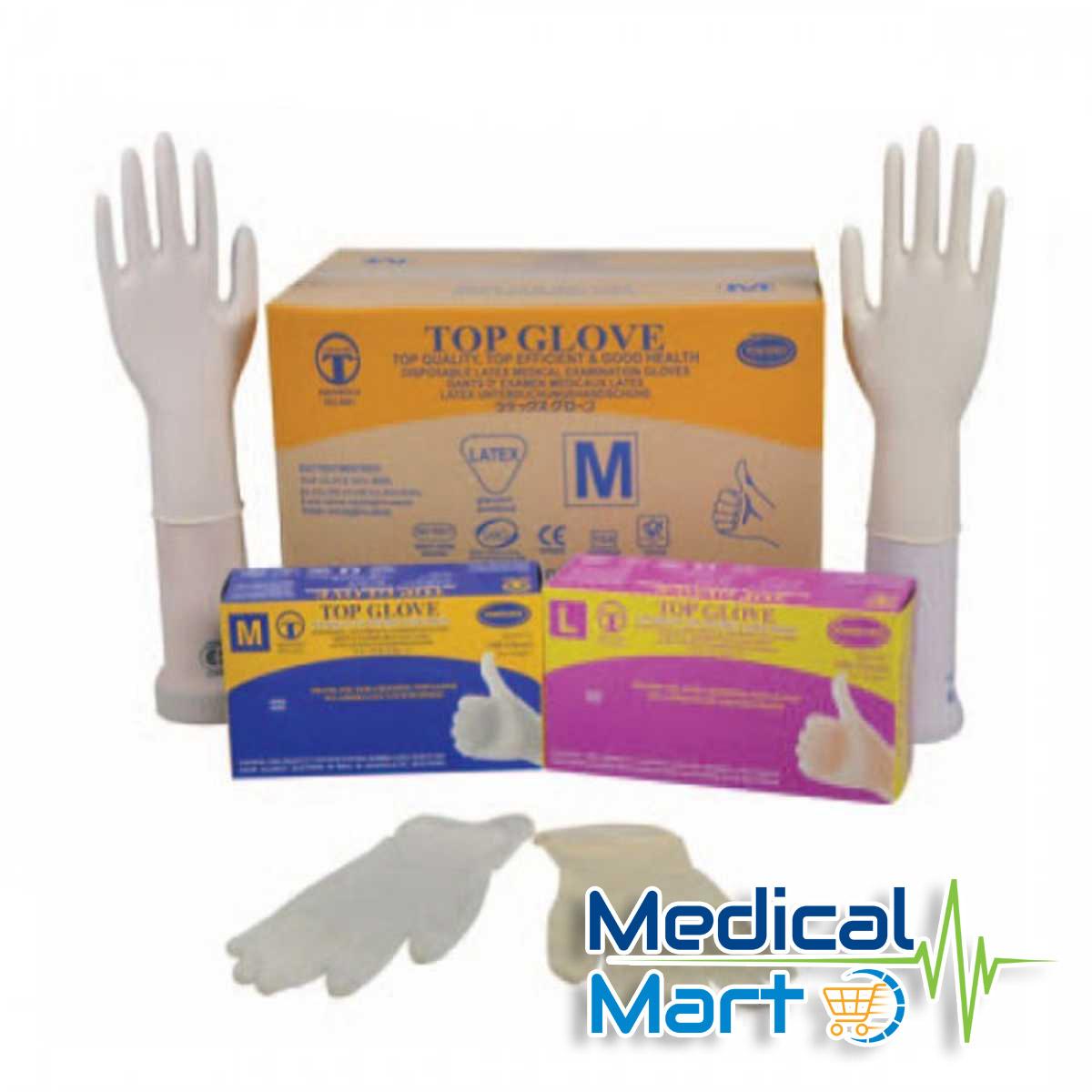 Latex Examination Glove Powdered