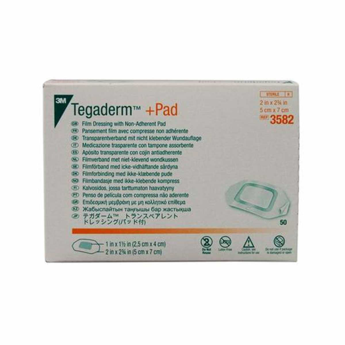 3m Tegaderm + Pad Transparent Dressing With Absorbent Pad