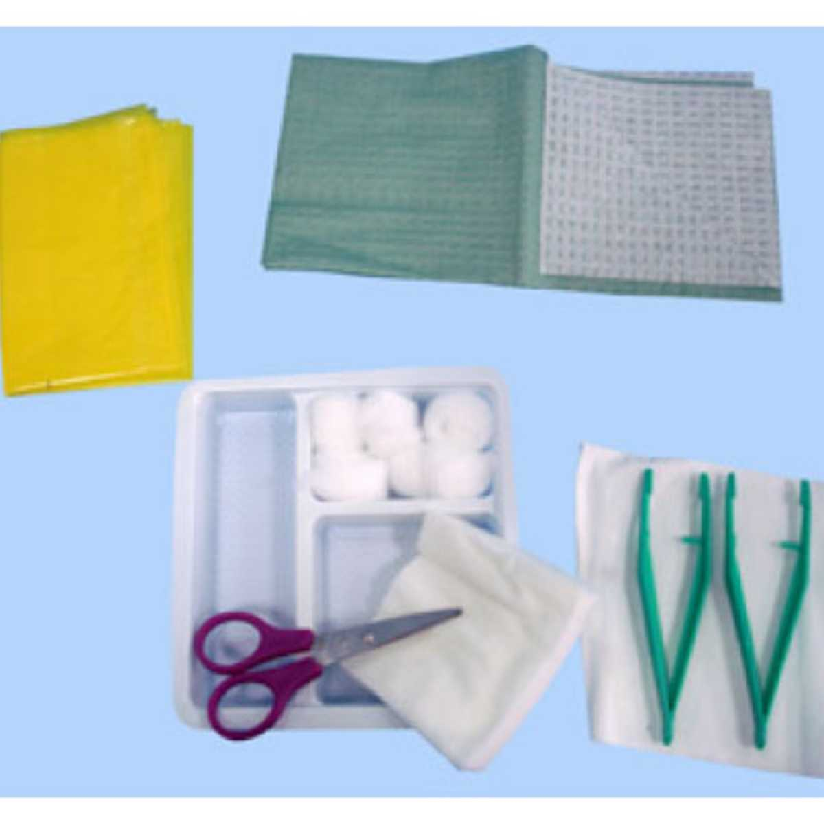 Dressing Change Tray - Sterile, Disposable