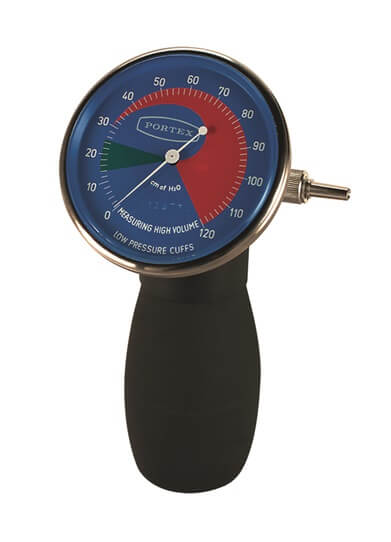 Cuff Inflator Pressure Gauge With Connecting Tubes