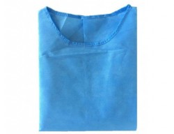 Ppe Isolation Gown Blue 25gsm