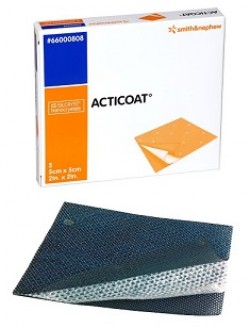 Acticoat Wound Antimicrobial Dressing, 5cm x 5cm (2in x 2in)