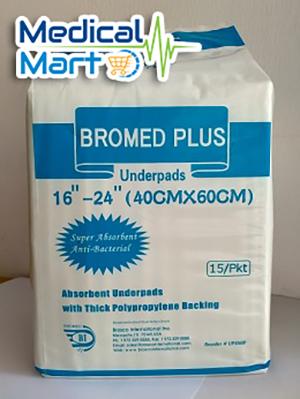 Bromed Plus Underpads, 40cm x 60cm