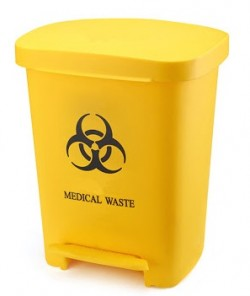 Sharps Disposal Container With Foot Pedal, 30 ltr.