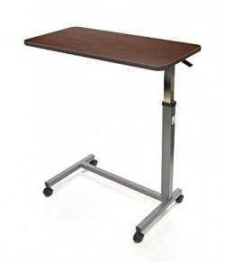 Overbed Table, Adjustable Height