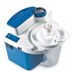 Devilbiss Vaccu-Aide QSU (Quiet Suction Unit) with Battery and Reusable + Container