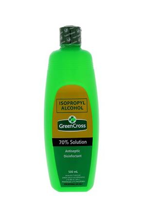 GreenCross Isoprophyl Alcohol, 70% Solution, 500ml