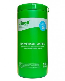 Clinell Universal Wipes Tub 100