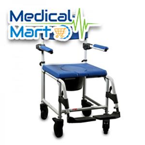 Aluminium Shower Commode Chair