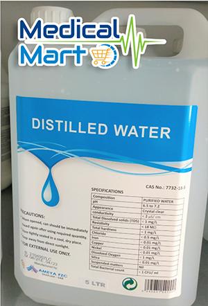 Distilled water 5 liters