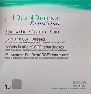 Duoderm Extra thin Hydrocolloid dressing 15Cm*15Cm
