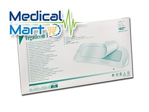 3m Tegaderm Transparent Film Dressing, 10cm x 25cm, 1627W